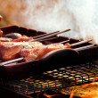 Barbecue on he grill — Stock Photo