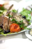 Fish dish — Foto Stock