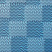 Modré kostky abstraktní pozadí — Stock fotografie