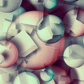 Geometric background — Stock Photo