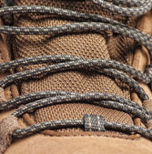 Close-up of of new hiking boot — Stock Photo