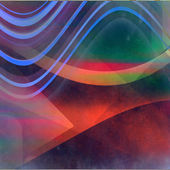 Colorful lines grunge background — Stock Photo