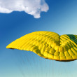 Parachute in the sky — Stock Photo