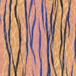 Photo: Tiger skin pattern texture