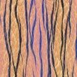Stock Photo: Tiger skin pattern texture