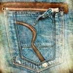 Jeans grunge texture — Stock Photo