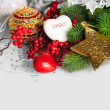 Christmas holiday background — Stock Photo #34317489