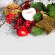 Christmas holiday background — Foto Stock