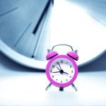 Classic style alarm clock — Stock Photo #35245671