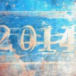 2014 celebration grunge background — Stock Photo
