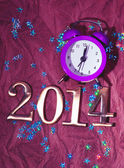 New Year 2014 background — Стоковое фото
