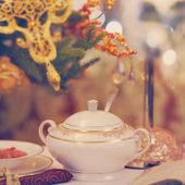 Ceramic tableware — Stock Photo