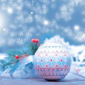 New Year ball — Stock Photo