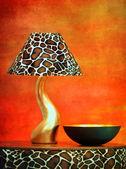 Stylish lamp — Stock Photo