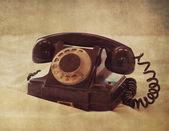 старый телефон — Стоковое фото