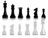 Chess figures — Vecteur