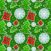 Christmas pattern — Stock Vector