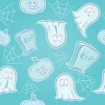 Seamless texture scary on Halloween — Stock Vector #13364457