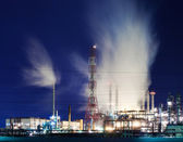 Industry by night — Stock Photo