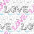 Royalty-Free Stock Vector Image: Love wrapping paper