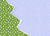 Stilvolle neujahr oder weihnachten scrapbooking-karte — Stockvektor