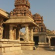 Detail of the Krishna temple in Hampi — Stock Photo