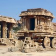Stone Chariot in Vittala Temple, Hampi, India — Stock Photo