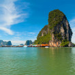 Phang Nga Bay, James Bond Island - Stock Photo