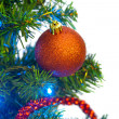 Royalty-Free Stock Photo: Bauble on the Christmas tree