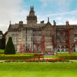 Adare manor with gardens - Stock Photo