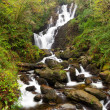 Torc Waterfall in Killarney National Park - Stock Photo