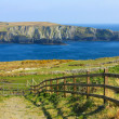 Mizen head cliffs in Ireland - Stock Photo