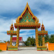 Buddhism temple entrance — Stock Photo
