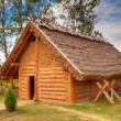 Royalty-Free Stock Photo: Old style cottage house in Poland