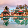 Tropical resort in Thailand - Stock Photo
