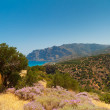 View of Mirabello Bay in Greece - Stock Photo
