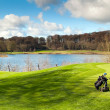 Irish Golf course - Stock Photo