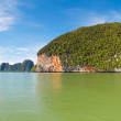 Scenery of National Park in Phang Nga Bay — Stockfoto