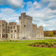 Medieval Ashford castle - Stock Photo