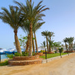 Scenery of Hurghada Marina — Stock Photo