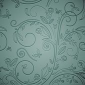 Letterpress transparent seamless pattern, style. — Foto Stock