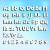 3d font — Stock Photo