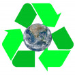 Stock Photo: Recycle Symbol