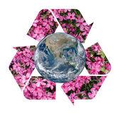 Recycle Symbol — Stock Photo