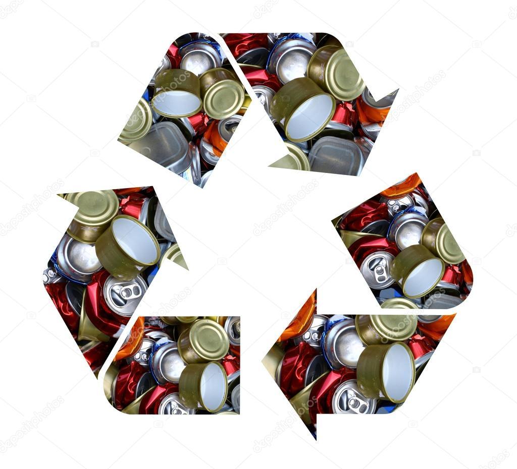 S mbolo de reciclaje fotos de stock 13318916 - Simbolo de aluminio ...