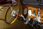 Interior do ford 37 — Fotografia Stock