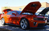 A 2013 Supercharged Chevy Camaro — Stock Photo