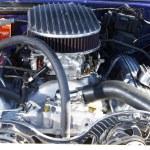 Camaro engine — Stock Photo