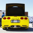 Yellow Corvette — Stock Photo #13953828