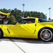 Yellow Corvette — Stock Photo #13984308